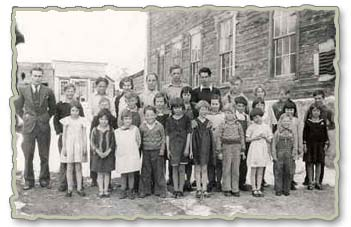 One of the Bannack School class pictures