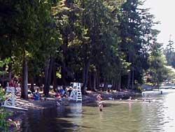 Pine Lake Park in Sammamish, Washington.