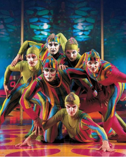 Cirque du Soleil crew