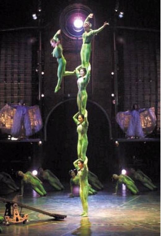 Cirque du Soleil at Bellagio