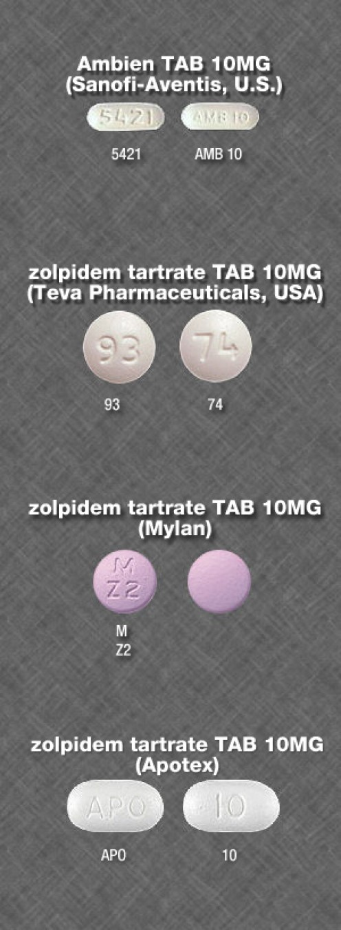 Ambien comes in different dosages, and generic versions are also now available.