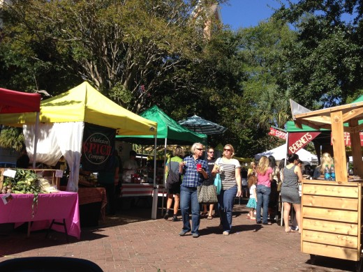 Farmers Market at Marion Square