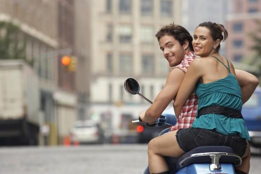 Millennials on a bike ride
