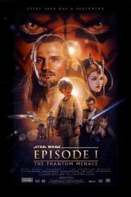 Star Wars Episode I: The Phantom Menace Trailer Poster