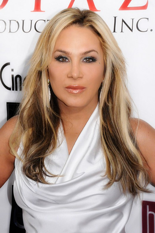 Adrienne Maloof, the richest of all the housewives in the Brava series, with a net worth of $300 million.