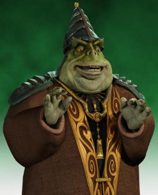 Boss Nass, leader of the Gungans.