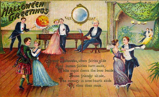 Scottish themed postcards were popular during the Victorian and Edwardian periods in America.