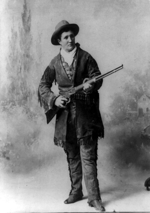 Calamity Jane most respected woman of the Old West.  She could shot better than most men and was quick to render aid to those in need.