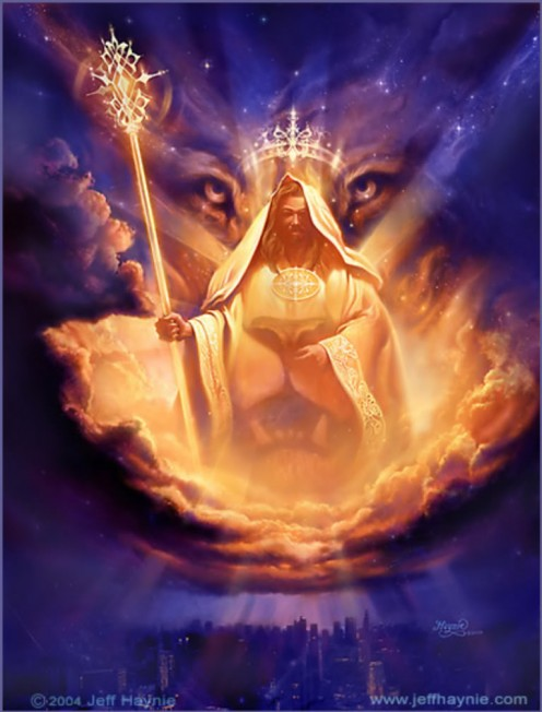 """Then one of the elders said to me, 'Do not weep!  See, the Lion of the tribe of Judah, the Root of David, has triumphed.  He is able to open the scroll and its seven seals."""