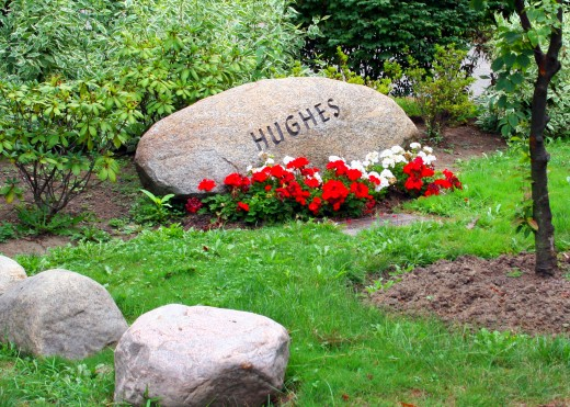 Many of us prefer the idea of a memorial spot or cemetery to visit and feel close to our departed loved ones