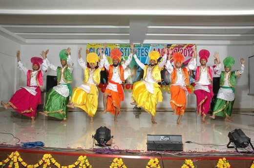 Bhangra Competition In Amritsar, Punjab