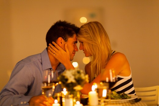Romantic Dinner at Home Proposal