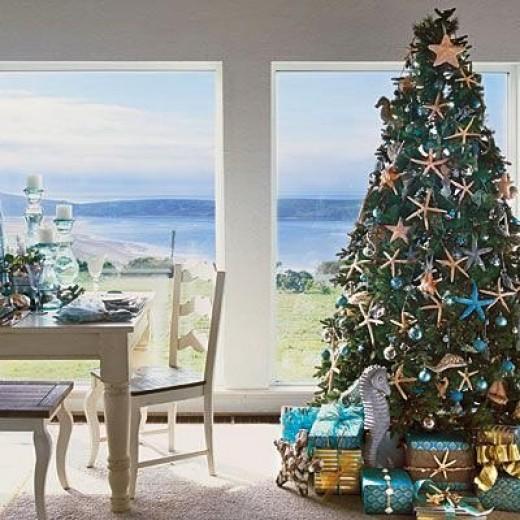 Nautical Christmas Trees