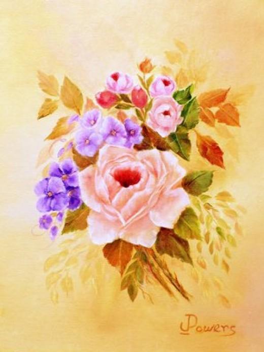 Honey Kissed Roses