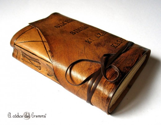 Personalized Handmade Leather Journal