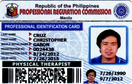 Sample of ID