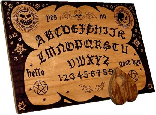 Ouija board bad!!!
