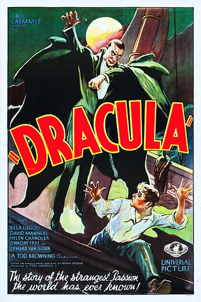 Dracula movie poster 1931