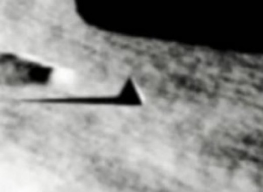 Recently release photos of the Moon seem to show pyramids and artifacts that for years NASA claimed did not exist.