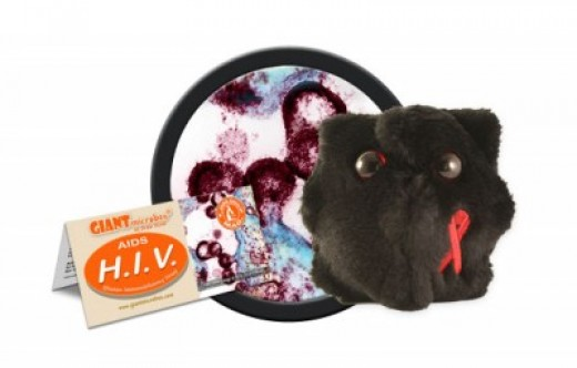 I have discovered through personal experience that these HIV cuddly toys do not make good anniversary gifts or stocking stuffers.