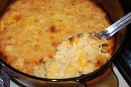 Homemade Baked Macaroni & Cheese