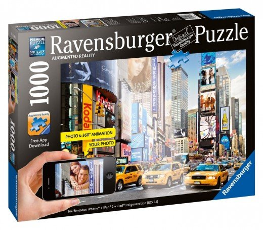 Augmented Reality Jigsaw Puzzle