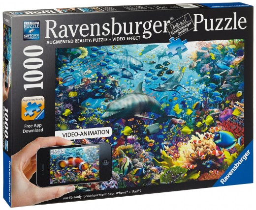 Underwater Augmented Reality Puzzle