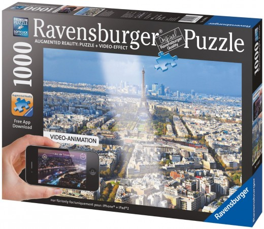 Paris Augmented Reality Jigsaw Puzzle