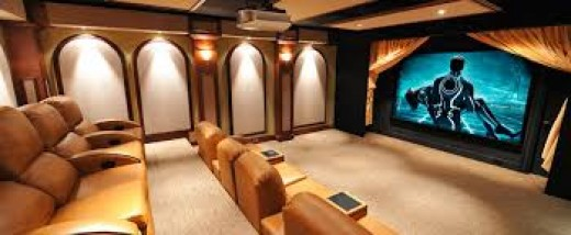 make your home a theater