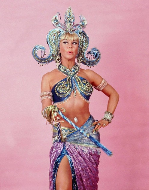 Doris Day as Mata Hari in a fantasy sequence from the film.