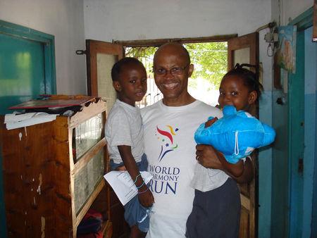 Kindergarten children in Tanzania