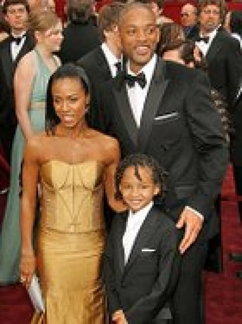 will smith with family