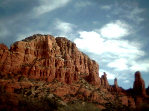 More red rocks in Sedona.