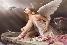 A seeking angel who seeks for me