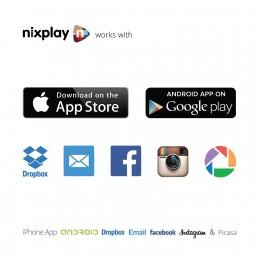 nixplay 12 inch Wi-Fi Cloud Digital Photo Frame