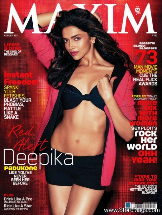 Deepika Padukone maxim hot photoshoot