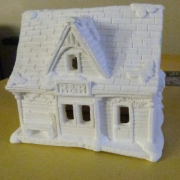 Railroad station from california creations range of christmas