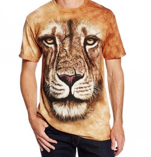 The Mountain Lion Warrior T-Shirt