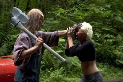 Wrong Turn 2 features some very violent scenes.