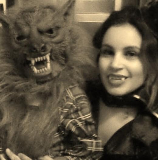 My son as a Werewolf in 2012