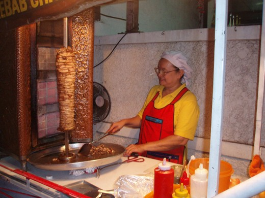 Kebab stands. They are everywhere in Pattaya and they are all awesome.
