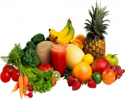 Always choose fresh fruits and vegetables...organic if you can.
