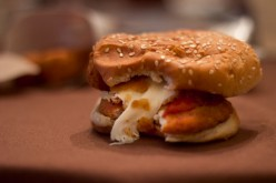 How to Make a Chicken Parmesan Sandwich out of a Fast Food Meal