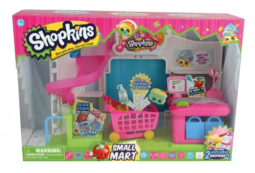 The Shopkins Supermarket Playset!