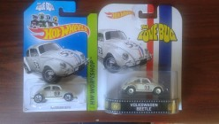 Different Versions of Herbie Diecast