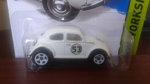 "Hotwheels Herbie 1:64 -- ""mainline"""