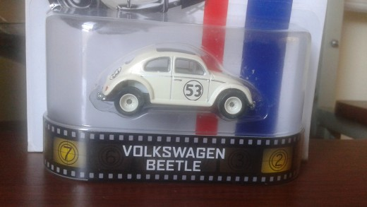 "Hotwheels Herbie 1:64 -- ""Retro Series"""