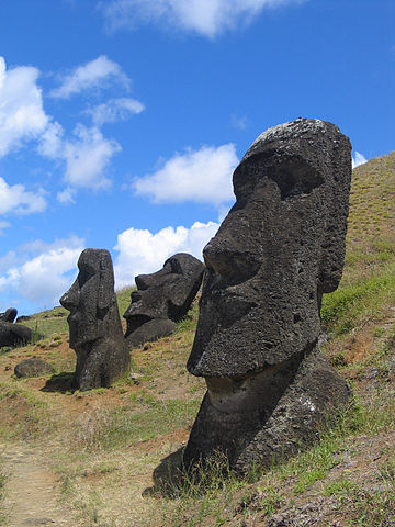 Statues Found in Easter Island