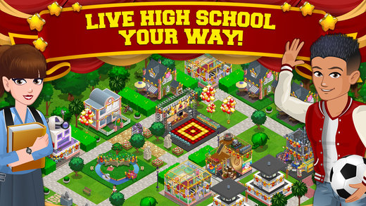 Build your own school, create your own students and make up a unique story, all with High School Story!