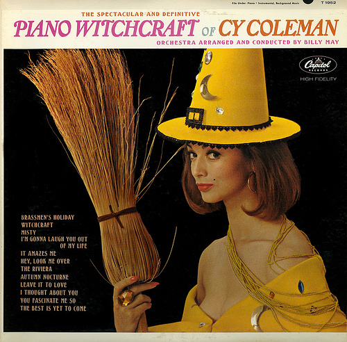 The Piano Witchcraft of Cy Coleman, Orchestra arranged and conducted by Billy May.  He swings, sometimes with compelling subtlety, sometimes with commanding drive!